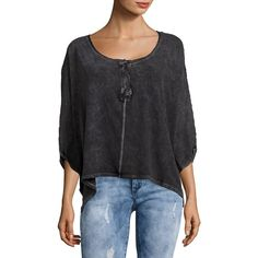 Free People Women's First Base Henley Tee ($27) ❤ liked on Polyvore featuring tops, t-shirts, moss, loose fit t shirts, henley tee, blue t shirt, 3/4 sleeve tee and loose fitting t shirts