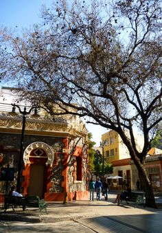 Lastarria, Santiago de Chile. Central America, South America, Bolivia, Places To Travel, Places To Visit, Chili, Hiking Tours, Equador, Easter Island