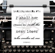 loSer  Bipolar Betty Healing Mantra card with by bipolarbettygoods, $3.00