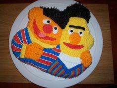 Bert and Ernie!  Classy and classic guys.