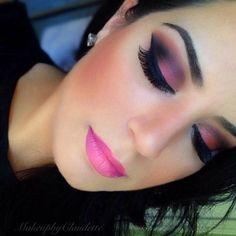 NYX Professional Makeup Matte Lipstick - Creamy, never dry, matte lipsticks in every color, for every occasion. Pink Matte Lipstick, Nyx Lipstick, Pink Lips, Dark Makeup, Skin Makeup, Flawless Makeup, Gorgeous Makeup, Bh Cosmetics, Fantasy Makeup