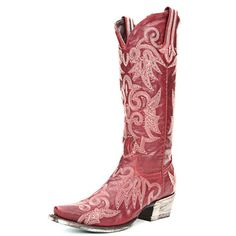 Cowgirl Boots | Lane Wild Ginger Cowgirl Boots LB0031D RED - PFI Western Store