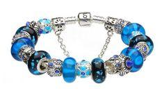 6.3inch/16cm 2013 New Arrivals Pandora European Style Blue Murano Glass Beads Charm Beaded Complete Silver Plated Bracelets for Women Girls Jewelry ALOV Bracelets,http://www.amazon.com/dp/B00CBAJ8HI/ref=cm_sw_r_pi_dp_TkA6rb0DH6PKTR19