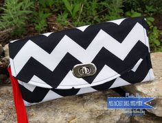 Necessary Clutch Wallet Ladies NCW Black and by MissBossyBags