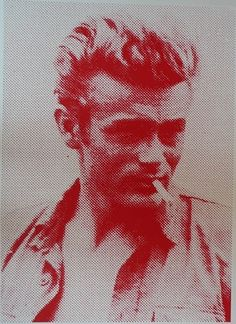 i love artist Russell Young ! James Dean,