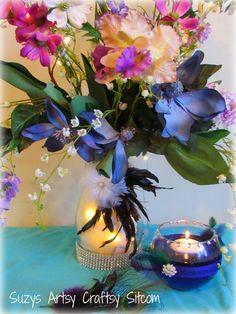 DIY Wedding- Floral Centerpiece  - via @Craftsy