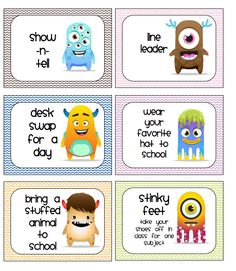 CLICK the PIC      I thought I'd share this with everyone! I created Class Dojo themed QR behavior cards to use with the kiddos.        ...