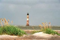 Morris Island  Lighthouse - Folly Beach SC