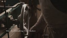 The Bookbinding Tool Maker