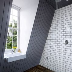 Looking for ideas for a loft conversion? Take a look at our great attic renovation ideas, from bedroom loft conversions to bathroom loft conversions Attic Rooms, Wet Rooms, Attic Spaces, Attic Playroom, Attic Apartment, Attic Renovation, Attic Remodel, Bad Inspiration, Bathroom Inspiration