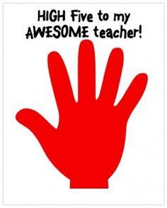 Easy Teacher Appreciation gift idea.
