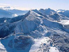 Skiing on Monte Bondone