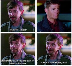 Is Garth the new Bobby.pleaese say it isnt' so! Dj Qualls, Ghost Busters, Sam Winchester, Destiel, Family Business, Superwholock, Pop Culture, Mirrored Sunglasses, Pilgrim