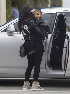 Kim & North Out in LA - May 21, 2015