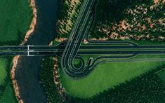 Post with 6200 views. City Layout, Map Layout, City Skylines Game, Birds Eye View, Civil Engineering, Urban Planning, Drone Photography, Urban Design, Roads