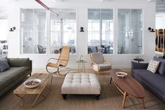 Food52's New Office Open Lounge New York City Mark Weinberg