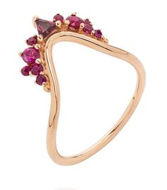 Fernando Jorge Fusion Wave Small Ruby Ring available to buy at Harrods. Shop designer women's shoes online and earn Rewards points.