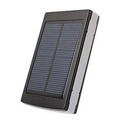 GoodsGood 10000mAh Solar Power Bank Backup Battery Charger for GPS, PDA, Mobile Phone and Other USB chargeable Devices Review 2017