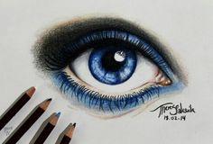 Imagen de blue, art, and drawing