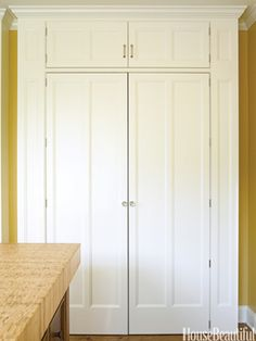 pantry doors in chicago kitchen of the month
