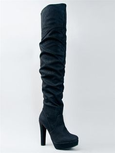 Great thigh high boots under 55 dollars!