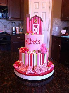 Olivia's Farm Cake   Flickr - Photo Sharing!
