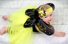 Baby Girl Halloween Costume 7 pc set Girl by VioletsVelvetBox, $42.50