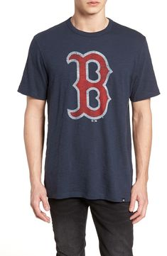 567bc911dfa Boston Red Sox Fan shirt.  47 Grit Scrum Boston Red Sox T-Shirt
