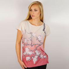 Kozyndan+Bunny+Blossom+Ladies+T-Shirt