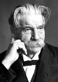 """Doctor, Missionary, Philosopher and Musician; the expression """"reverence for life"""" is the key to Albert Schweitzer's personal philosophy. No person must ever harm or destroy life unless absolutely necessary. This attitude permeated everything he did.  Read more about him at the Nobel Prize official website, which Dr. Schweitzer won in 1952."""