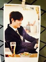 Lee Min Ho as the ambassador for Kyochon Chicken