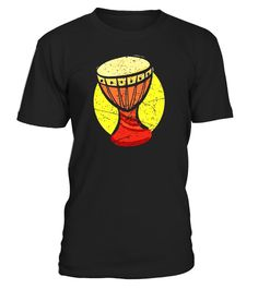 5f5173ab African Drums Shirt: Djembe Drum Music Africa Gift T-Shirt . Special Offer