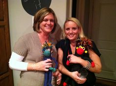 Kari and Melissa have their SMAC! on.     They love that SMAC! monkeys NoMo and Phoenix help those with/impacted by cancer SMAC! that dang disease with lots of love, comfort and major monkey mojo.     Have someone in your life who could use a SMAC! monkey? You can easily pre-order right here. SMAC! on friends. SMAC! on!  http://smacmonkey.com/