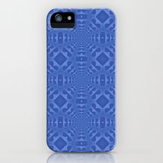 Blue One iPhone Case by Lyle Hatch - $35.00