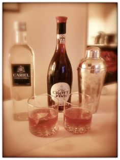 """Inspiration can come from the most unpredictable of places. Hence the new cocktail to emerge from """"Tales of the Cocktail"""" in New Orleans. Take 1 part Cariel Vanilla and add 2 parts Crofts Pink port. Ginger Ale to taste, squeeze of lime and Bob's Your Uncle. Yes that's what it's called (don't ask). Perfect for these almost oppressively sultry nights the Mississippi delta has been serving up for us. I salute Croft Brand Ambassador Lorenzo Bakewell-Stone, & NYC's Katarina Maloney."""
