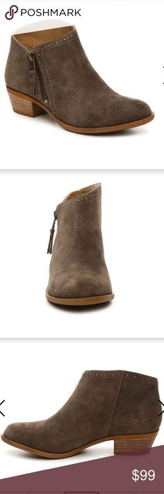 Lucky Brand Benna Bootie New in Box Lucky Brand booties. Brown oiled suede in size 9 Lucky Brand Shoes Ankle Boots & Booties
