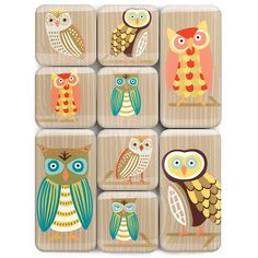 Add style to your fridge or file cabinet with these Paper Source exclusive whimsical owl magnets. Comes with 9 magnets in two sizes.<br /><br />Size - 1 square magnets and 1 x 2 magnets Owl Always Love You, My Love, Cool Desk Accessories, Cool Office Supplies, Cute Notes, Paper Source, Owl Art, Woodland Creatures, Note Paper