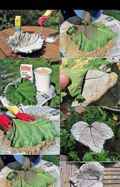 DIY garden decor ideas using concrete - Diygarden.live DIY garden decor ideas using concrete In modern cities, it is sort of impossible to. Concrete Crafts, Concrete Art, Concrete Projects, Concrete Garden, Outdoor Projects, Concrete Planters, Cement Art, Outdoor Decor, Garden Crafts