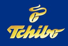 Tchibo Logo.    Tchibo is a German chain of coffee shops and cafés, also known for its weekly-changing range of other products.