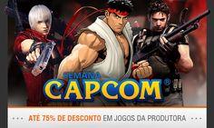 Fala galera Hoje trazemos a Promoção da semana Capcom do Nuuvem    Vele conferir pois tem excelentes jogos a um precinho camarada    Dentre os games tem