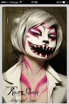 Halloween cat makeup!-yo this is awesome!