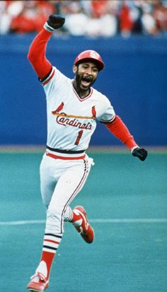 Batting second and playing shortstop #1 Ozzie Smith