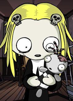 Lenore the Cute Little Dead Girl comics. December 2nd - December 7th.