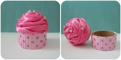 Cupcake Gift Boxes {No Baking Required} - One Good Thing by Jillee
