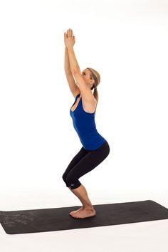 Cadeira (Utkatasana) | Yoga Poses | O seu guia de posturas de Yoga