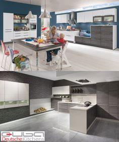 All you have to do is simple choose which #kitchen you love and then let our design team show you some examples of how to mix your choice with a contrasting, colour or wood. As you can see here, by mixing two kitchen #door fronts together you create interest and a finished end-look, which is totally unique to you.