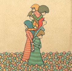 by Mel Kadel Love One Another, Envy, First Love, Illustration, Art, Art Background, First Crush, Love Each Other, Kunst