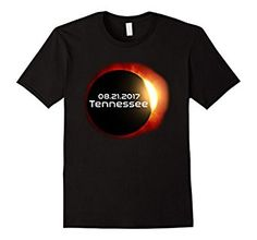 Amazon.com: Destination Tennessee: Total Solar Eclipse 2017 T-Shirt: Clothing