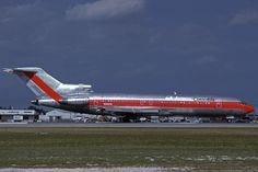 N8861E - Boeing B-727-225A - AVIANCA Colombia (leased from Eastern Airlines) at Miami International Airport (MIA) in February 1989
