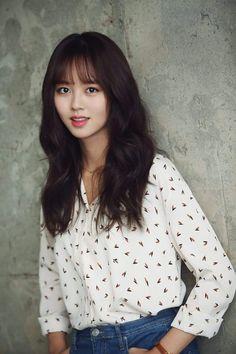 Kim So-hyun dishes on Bring It On, Ghost Korean Beauty, Asian Beauty, Asian Woman, Asian Girl, Hyun Soo, Kim Sohyun, Han Hyo Joo, Park Shin Hye, Beautiful Asian Women